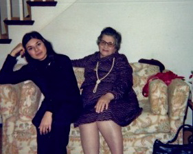 Mom and me 1980, San Francisco, CA