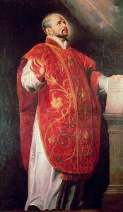 St. Ignatius of Loyola, Image from WikiMedia Commons