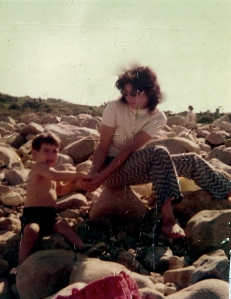 Me and Rich 1972, Montauk Point, LI, NY