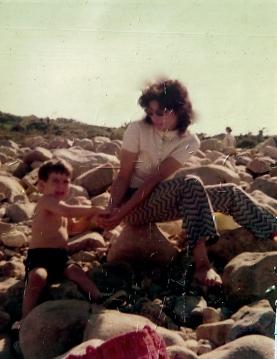 Me and Rich 1972, Montauk Point, LI, NY