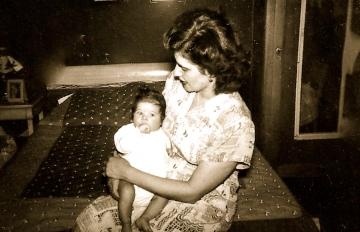 Mom and Me 1950, Brooklyn