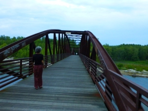 On hte Bridge