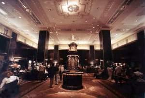 Waldorf Lobby & Clock