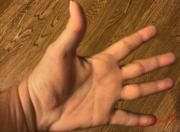 My Hand-Each Finger a Bead