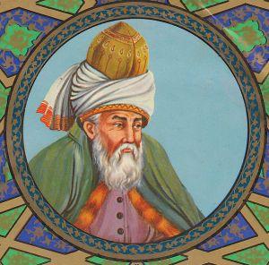 Jalāl ad-Dīn Muhammad Balkhī (1207-1273), Iranian poet, jurist and theologian, and Sufi mystic