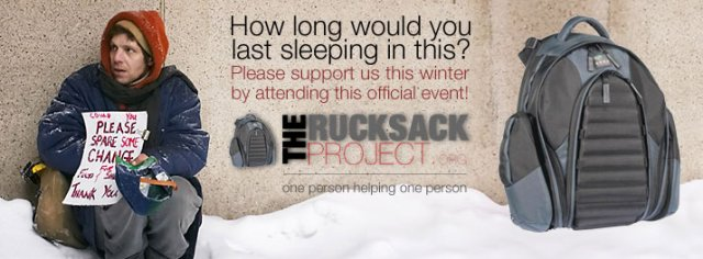 The Rucksack Project Banner