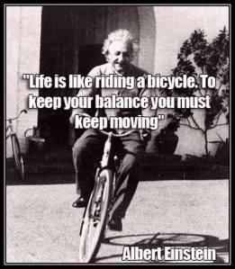 Einstein - moving