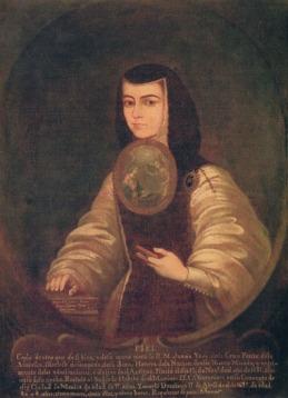 Portrait by Fray Miguel de Herrera (1700-1789)