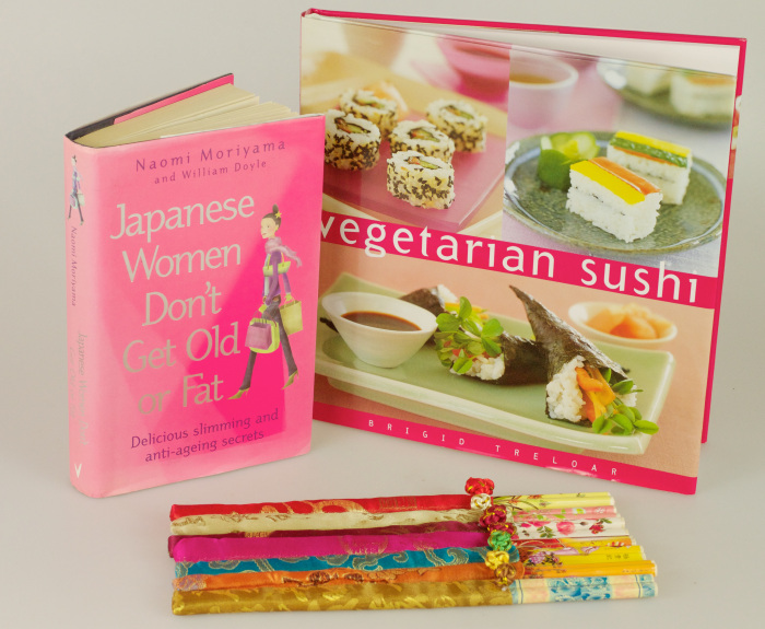 Empty space as an aesthetic significance the bezine for Asian cuisine books