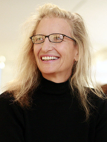 Annie Leibovitz by Robert Scoble under CC A 2.0 generic license