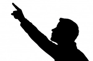 man-pointing-silhouette
