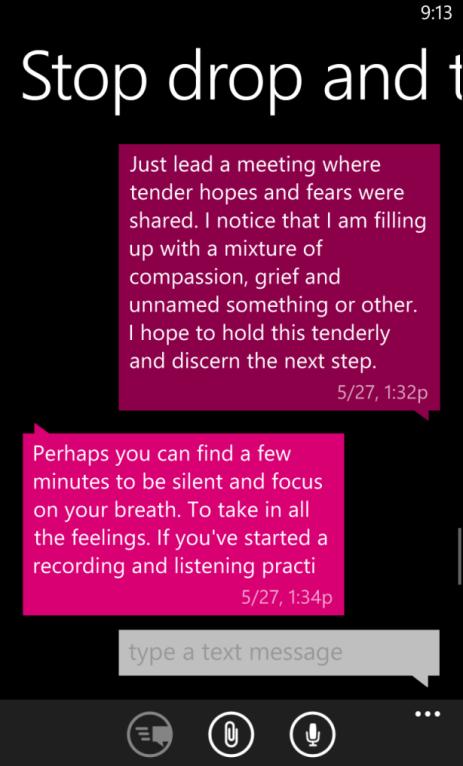 Terri Stewart Conversation with Mentor