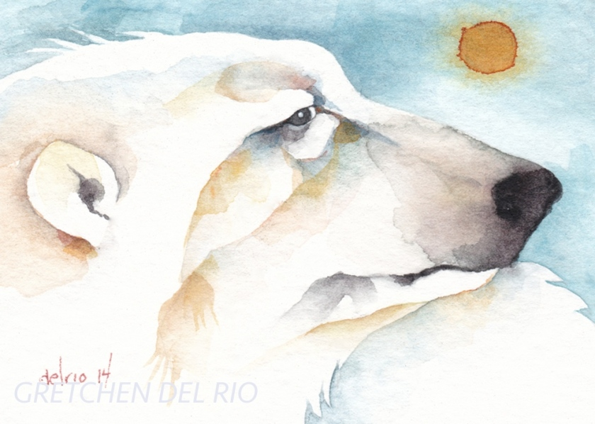 watercolor aceo 7/2014