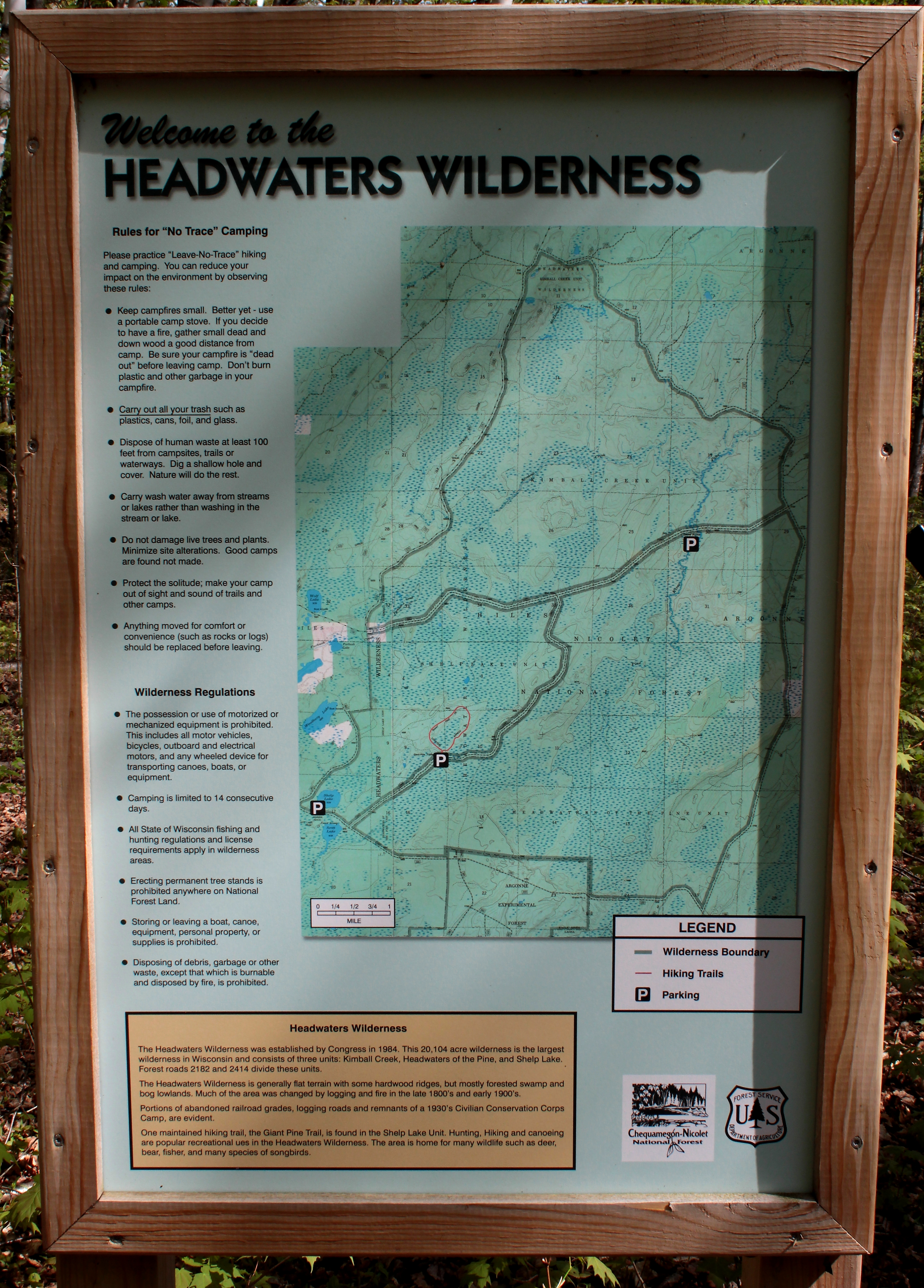 North American Eca Map%0A Backpacker Magazine u    s site has given it the distinction of  u   cdeepest  solitude u   d within that Forest  We headed there just after Memorial Day   wilderness map