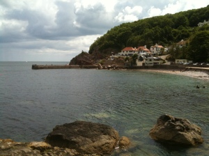 Babbacombe and the Carey Arms from Oddicombe (© 2011 John Anstie)