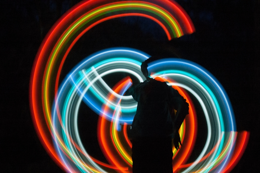 Glow Stick by Terri Stewart CC (BY-NC-ND)