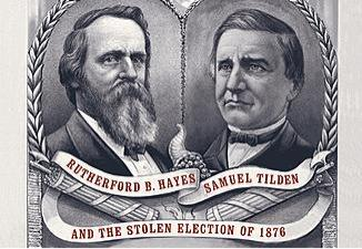 a report on the presidential election of 1876 hayes vs tilden The political situation in 1876 a presidential election—the capstone event of american cronin reported his vote for tilden and two votes for hayes.
