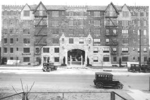 The building in the 1930s.