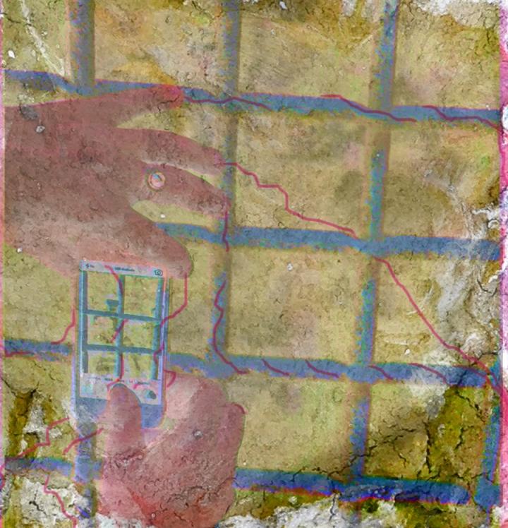 Hands Digital art ©2015 Michael Dickel