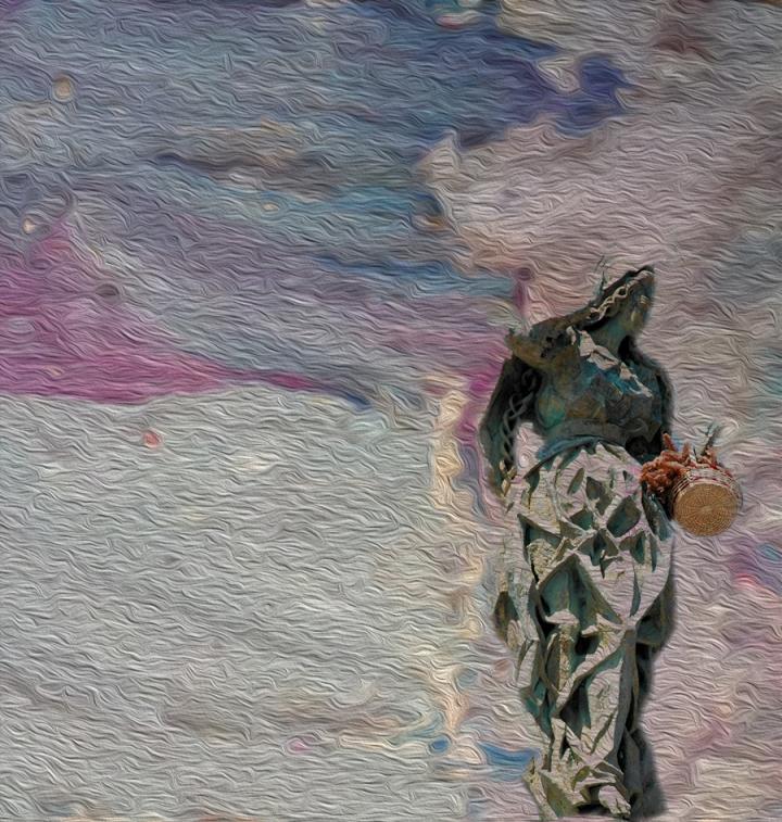 Dream Walker Digital art ©2015 Michael Dickel