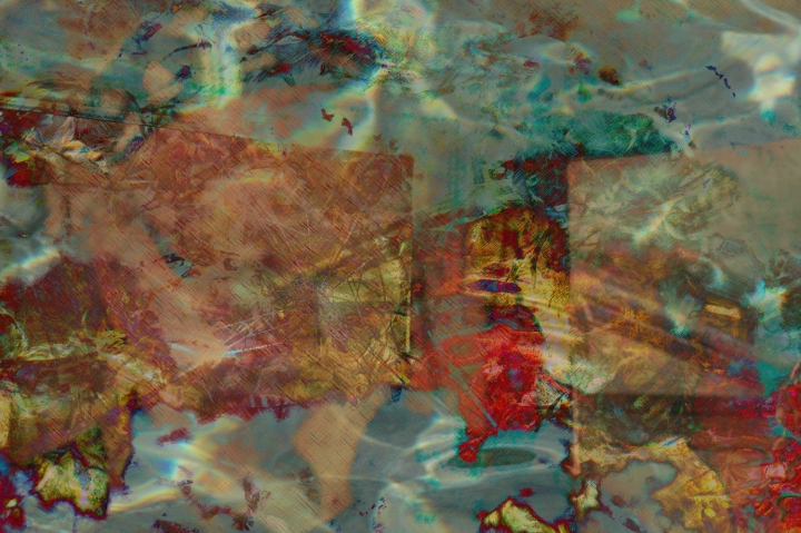 Hero Worship Poetics Digital art from photographs ©2015 Michael Dickel