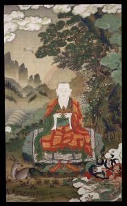 Rāhula,Tibetan art, 16th century