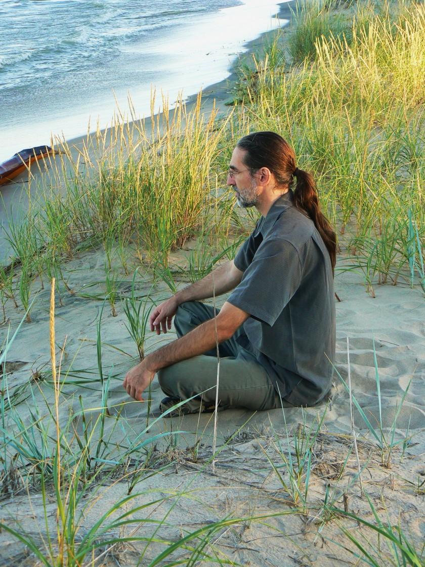 Lake shore meditation