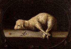 800px-Josefa_de_Ayala_-_The_Sacrificial_Lamb_-_Walters_371193