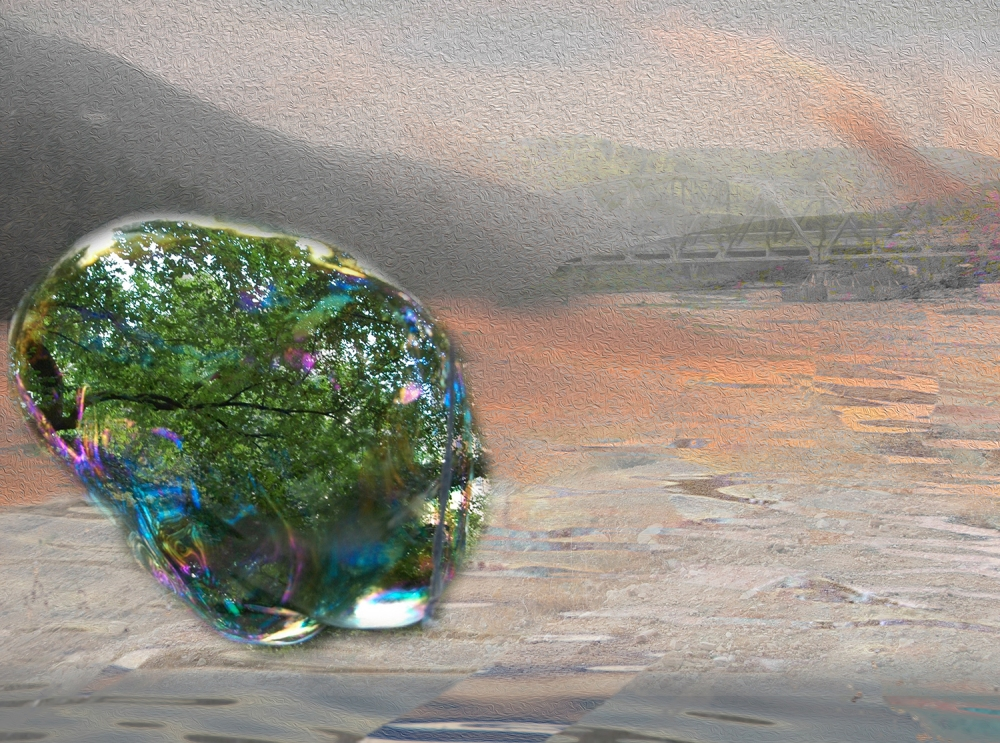 Landscape 10 Digital Art ©2015 Michael Dickel