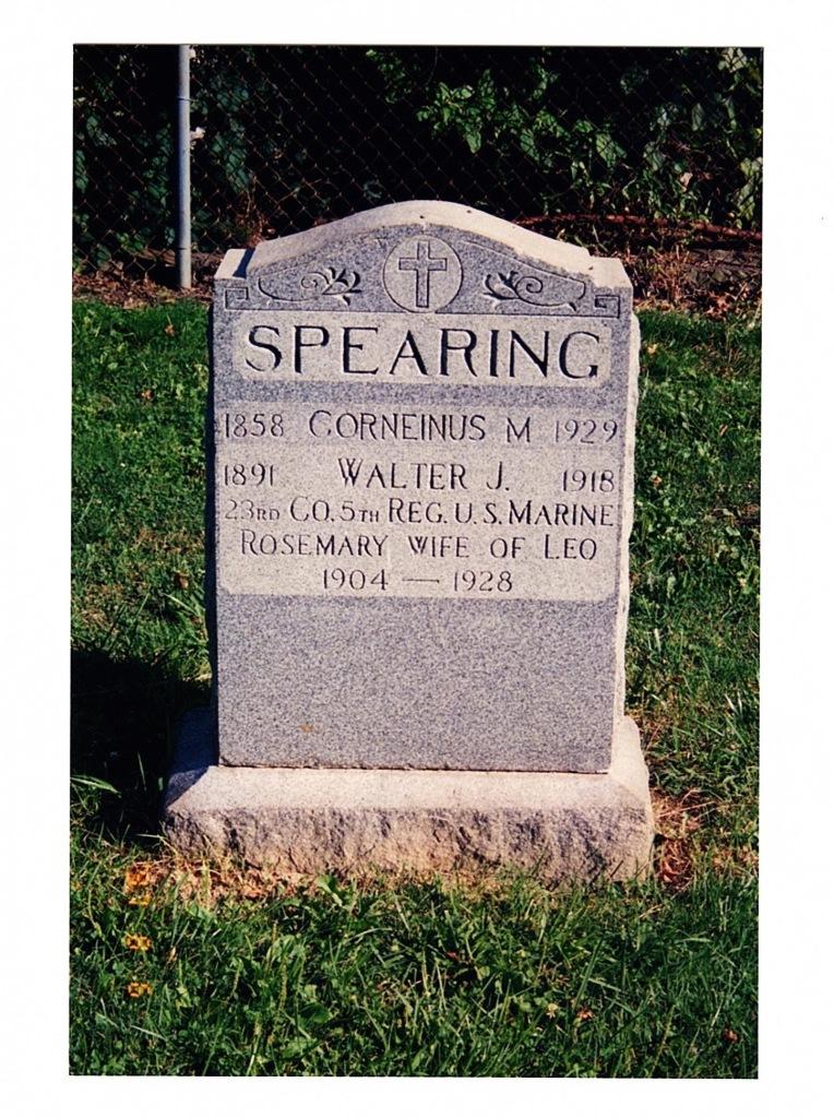 Spearing Head Stone