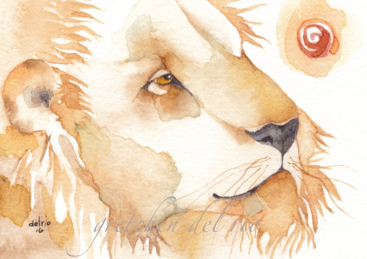 watercolor aceo 5/2016