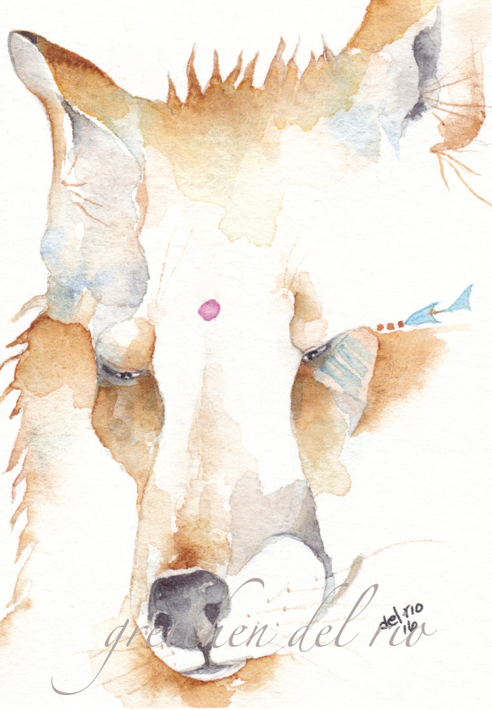 original watercolor aceo 9/2016