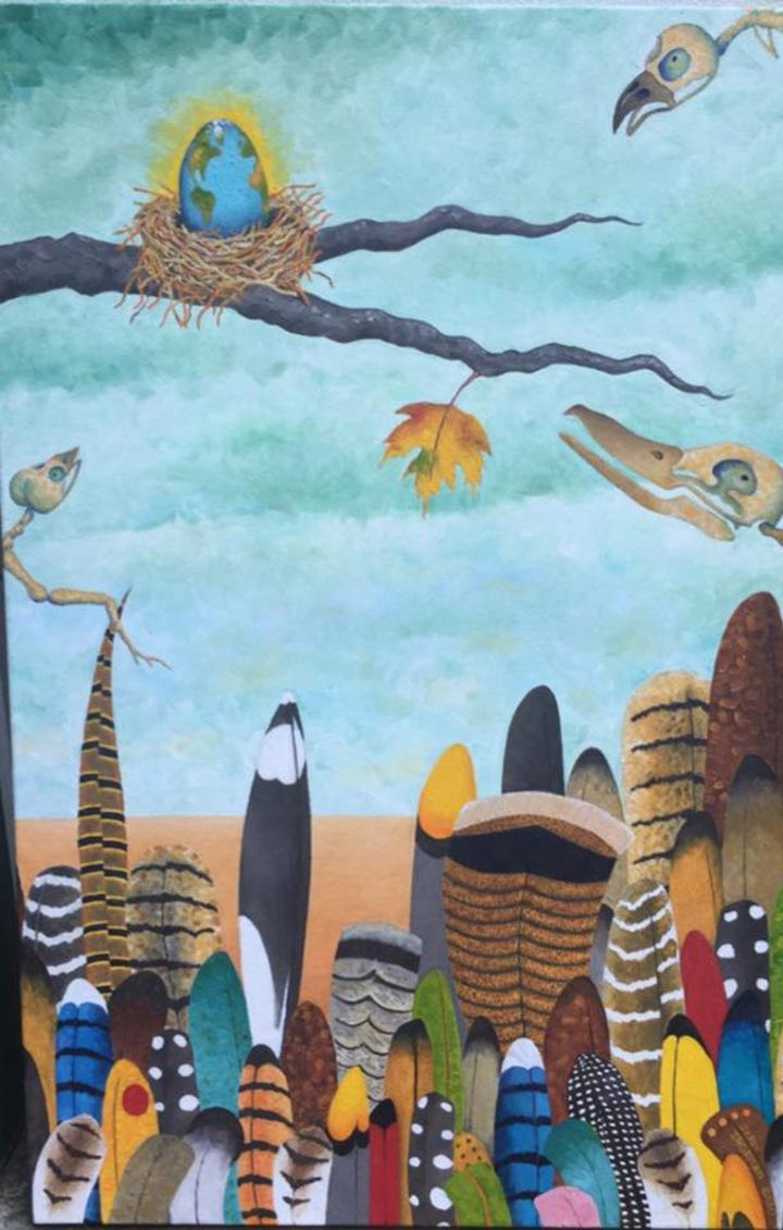 Hoping It Regenerates… AgainJerry IngemanOil painting