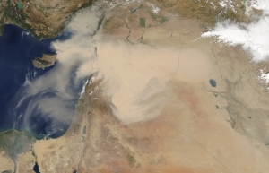 NASA Satellite image Sept. 7, 2015