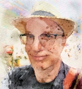 Michael Dickel—Digital Self-Portrait from Photograph