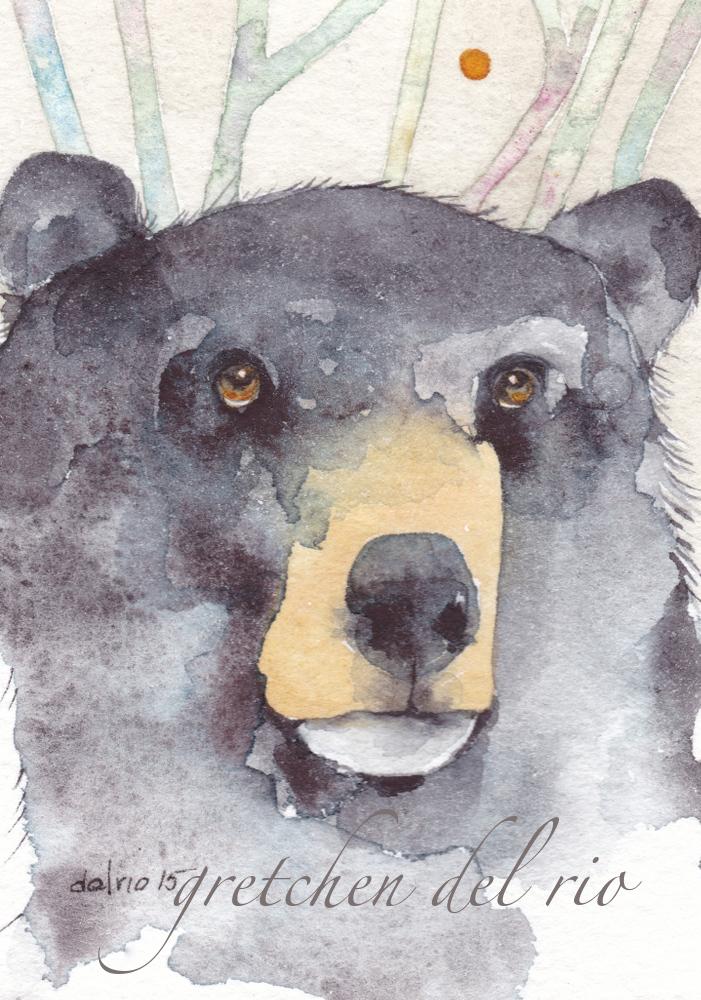 watercolor aceo 10/2015