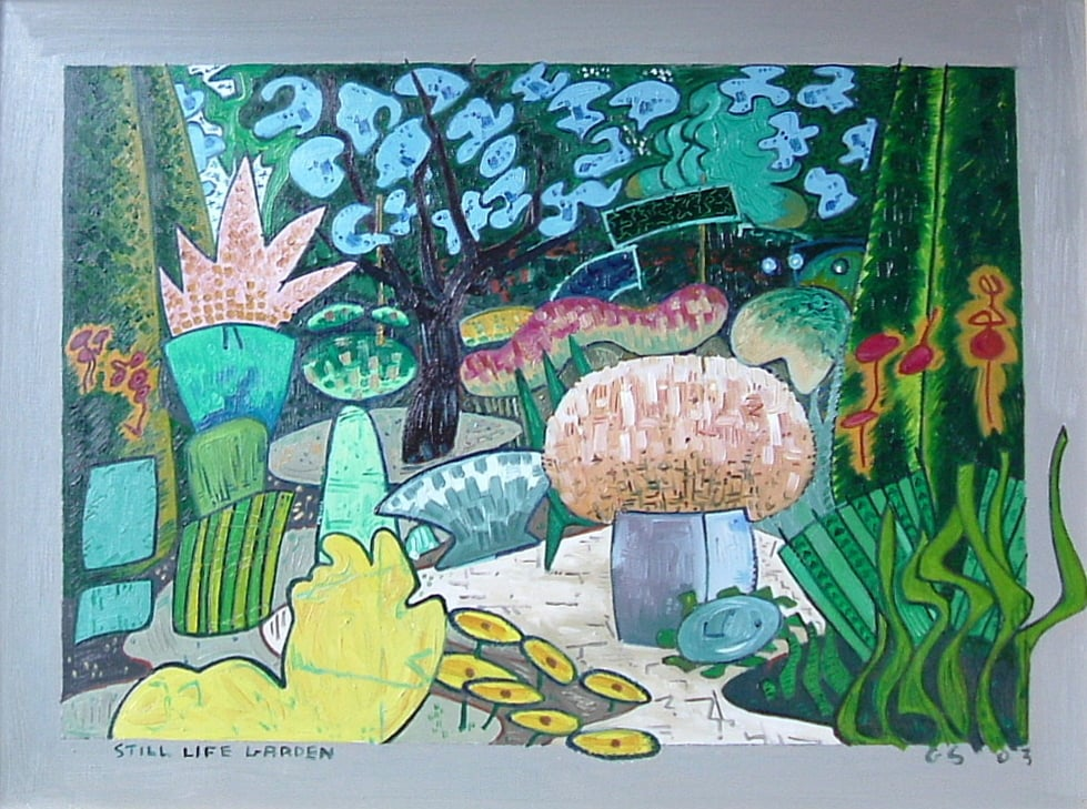 Still Life Garden 2 - Gerry Shepherd