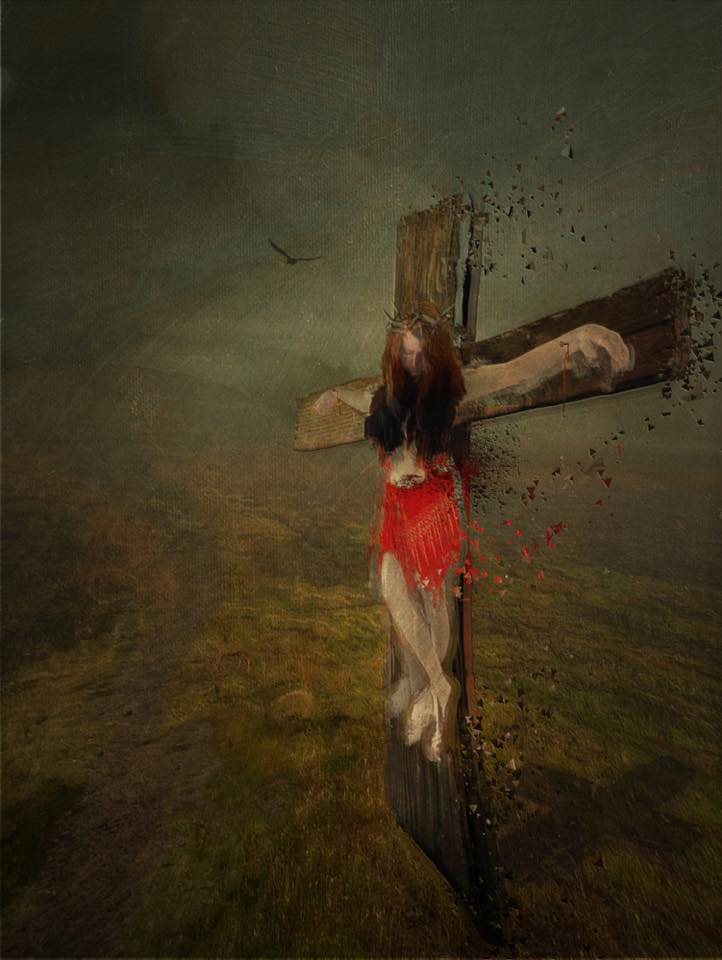 The Female Christ - crucifixion - Peter Wilkin